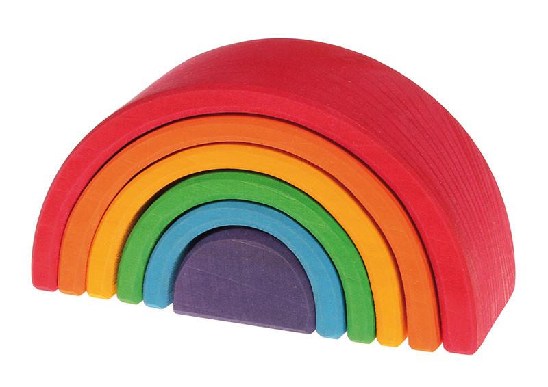 Grimms træ regnbue mellem i regnbuefarver