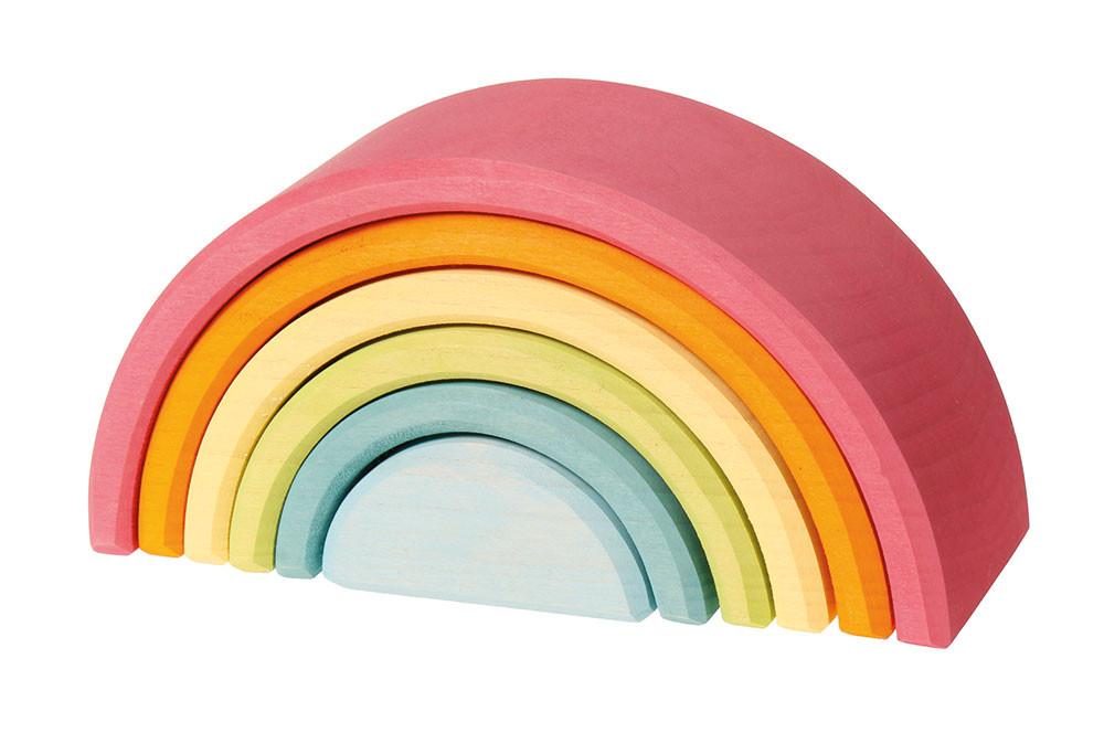 Grimms træ regnbue mellem i pastel