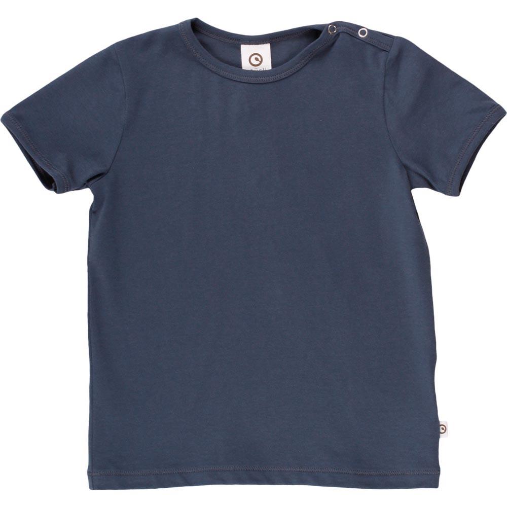 Mûsli Cozy me ensfarvet midnight T-shirt