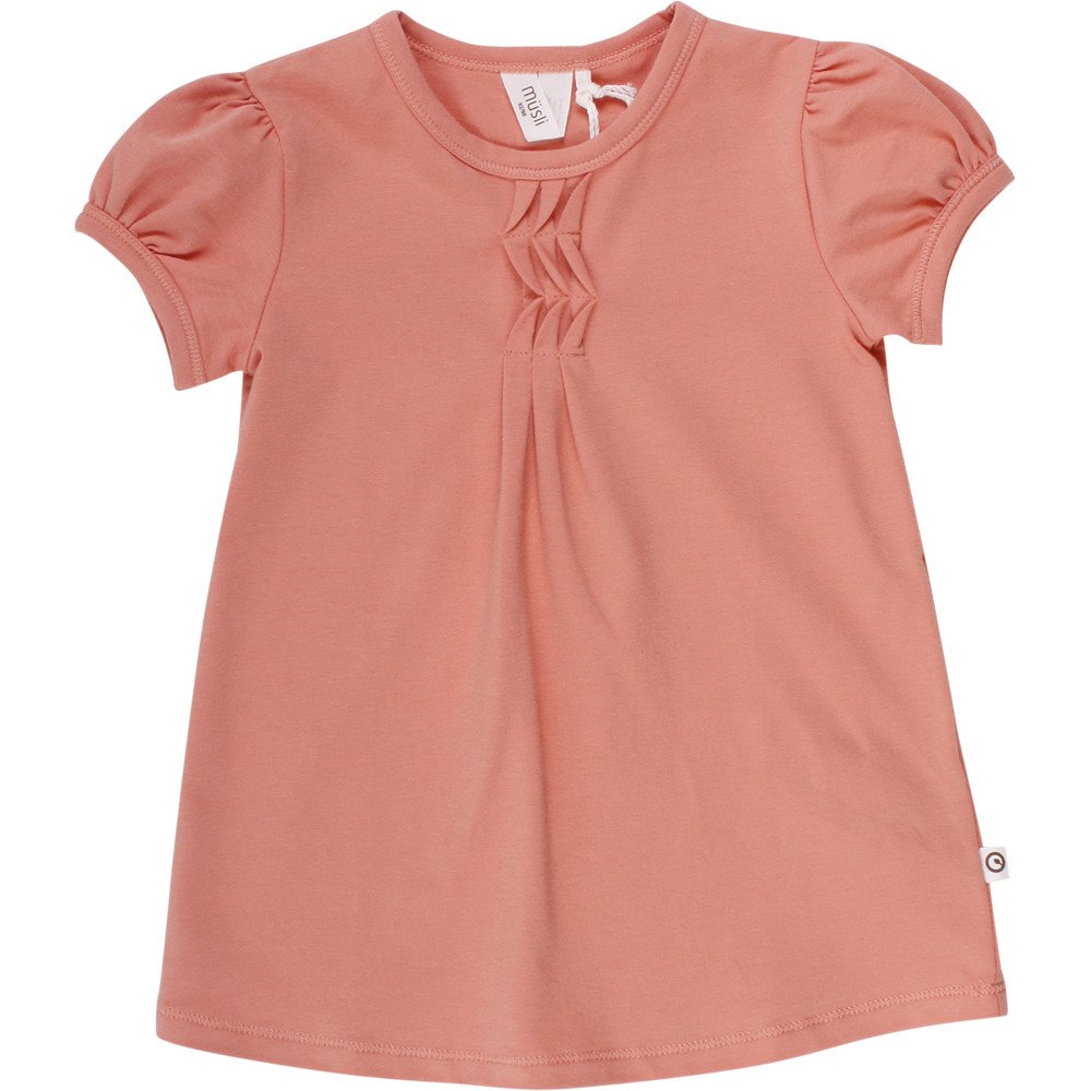 Müsli Cozy me t-shirt i dark peach