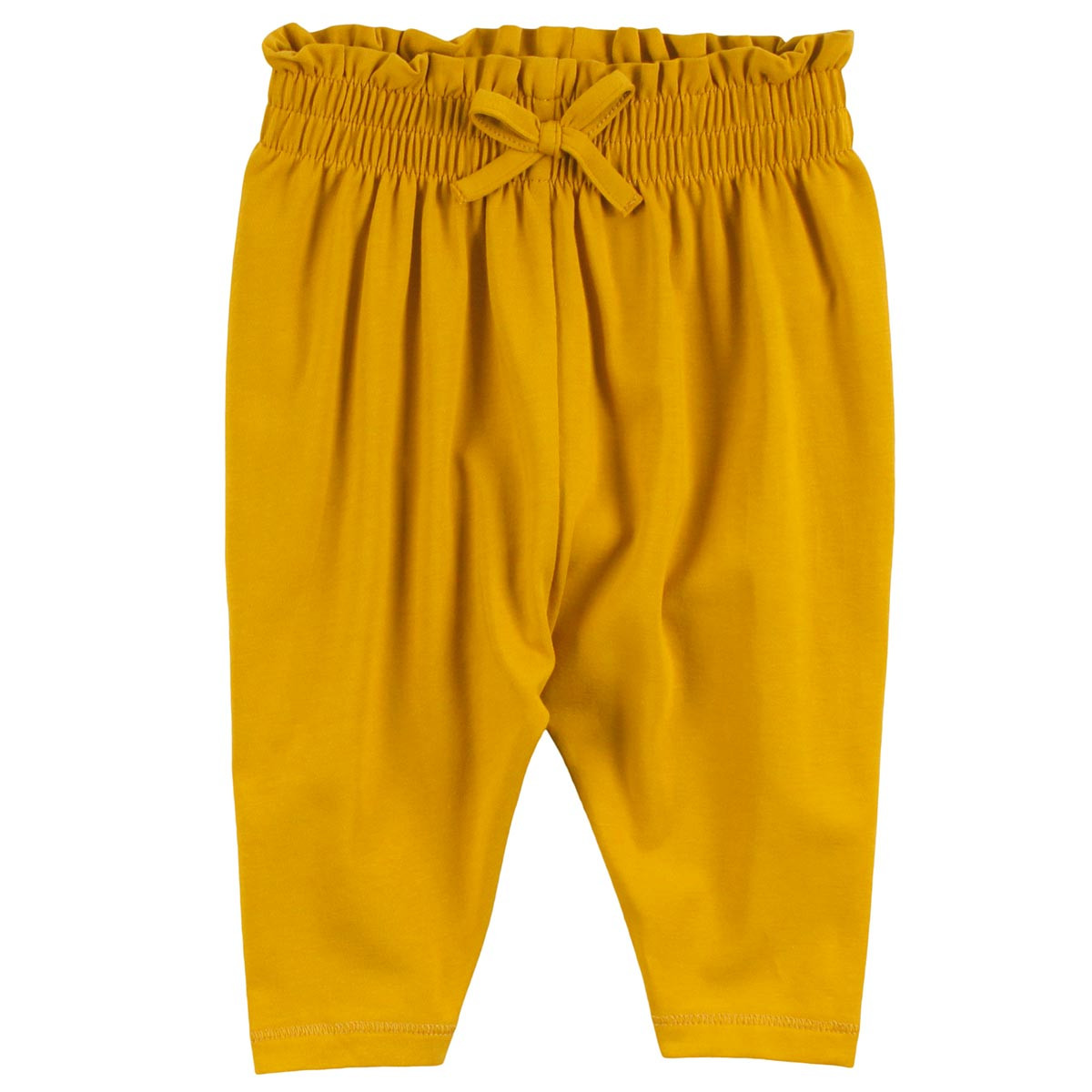 Müsli Cozy me waist bukser – Mustard
