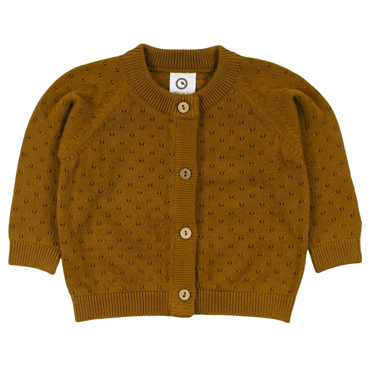 Müsli Knit cardigan – Pesto