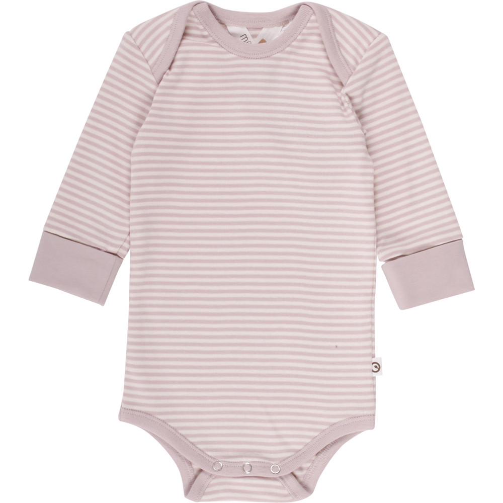 Stripe l/sl body rose