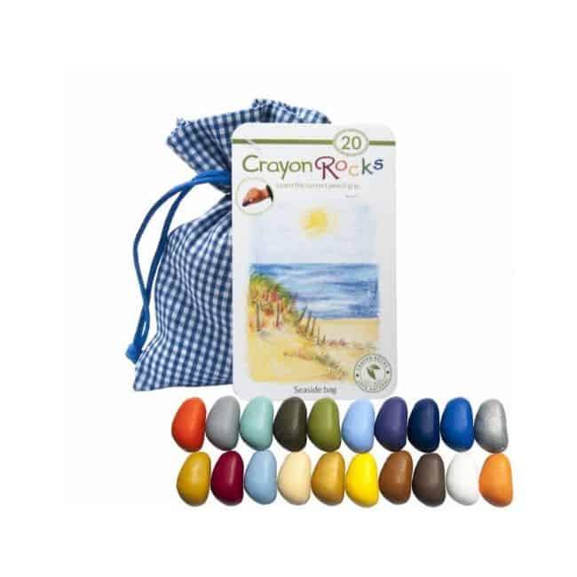 Crayon Rocks farvekridt – 20 stk. i blåternet pose