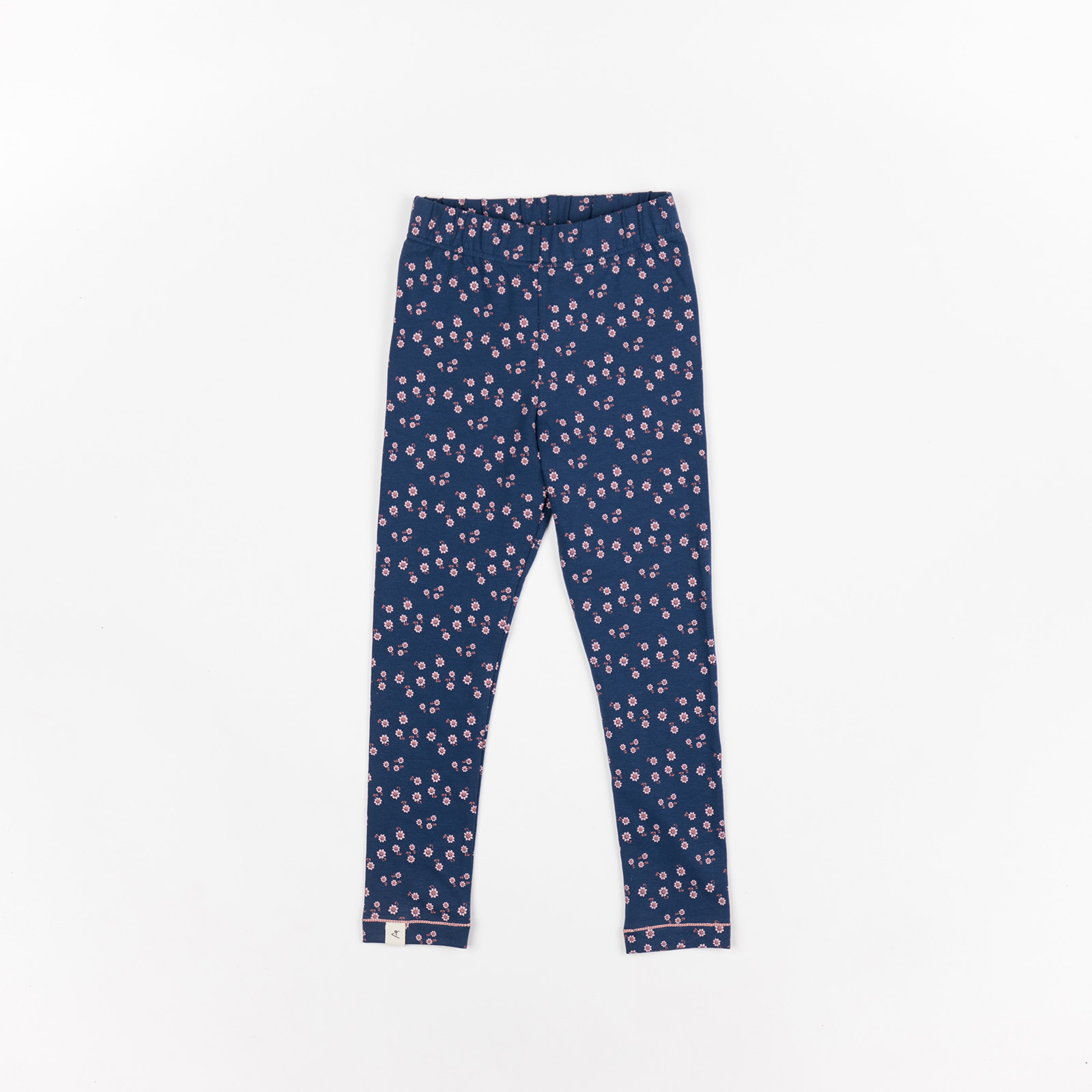 Bukser til baby - Haniella Leggings Estate Blue Wild Flower