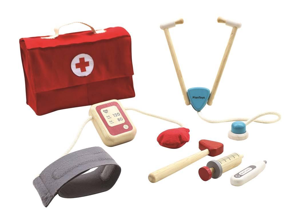 Doktorsæt - trælegetøj - Plan Toys