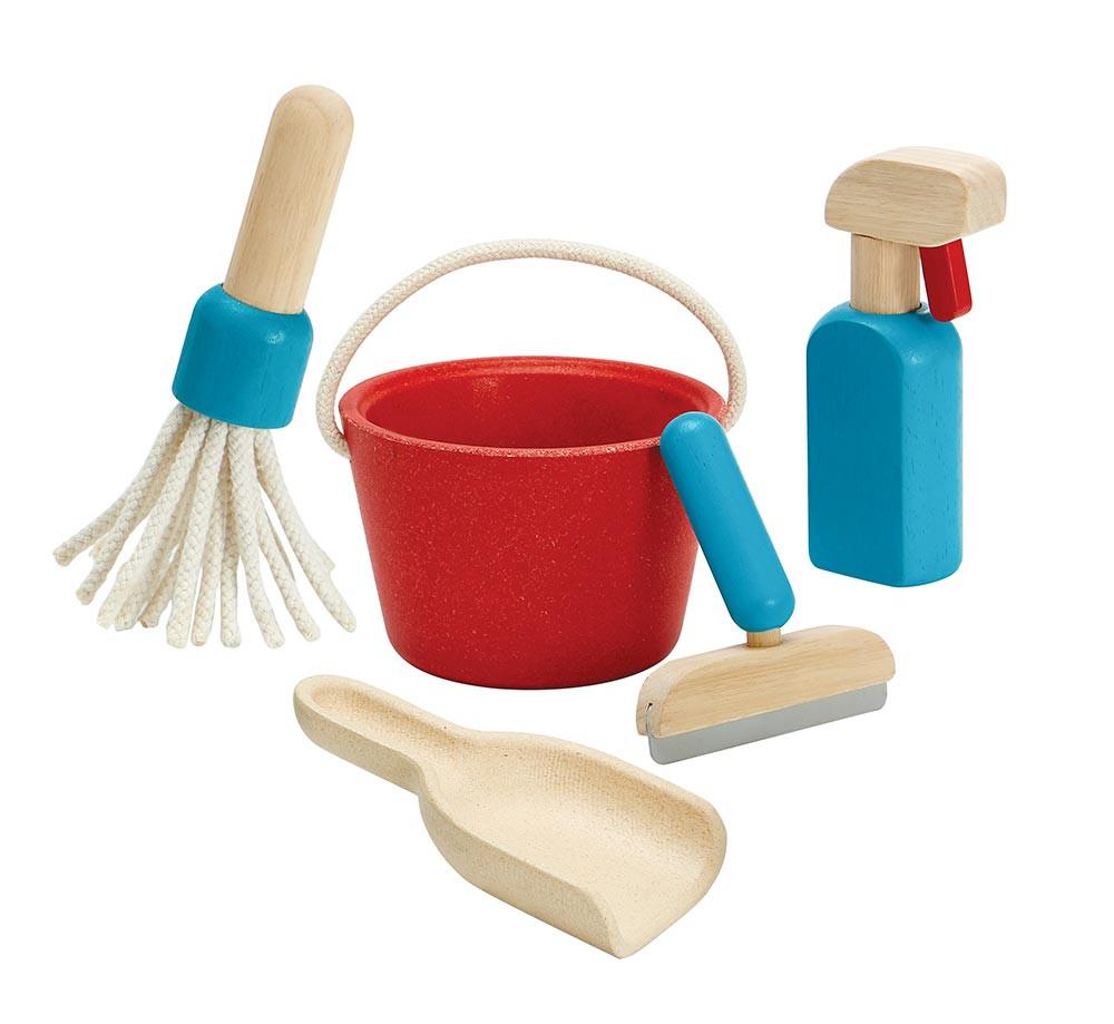 Rengøringssæt - trælegetøj   Plan Toys