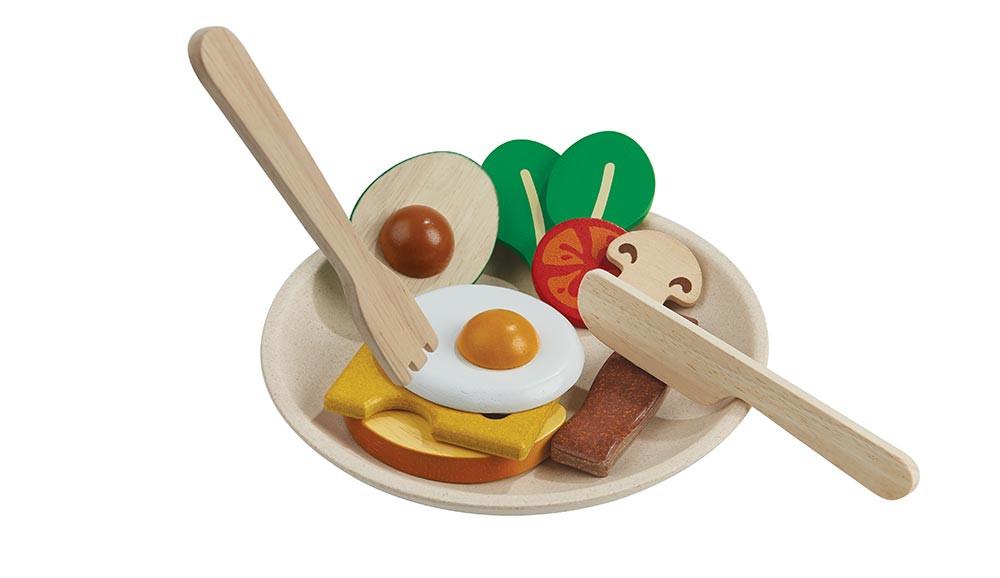 Morgenmadsmenu - trælegetøj | Plan Toys