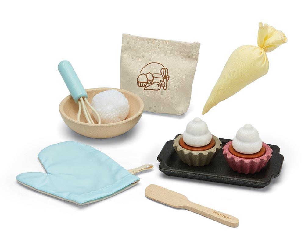 Plan Toys Cupcake-sæt