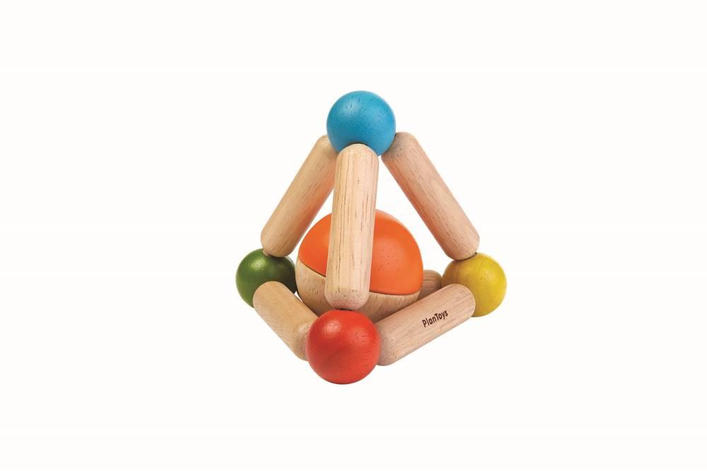Trekantet gribe-legetøj