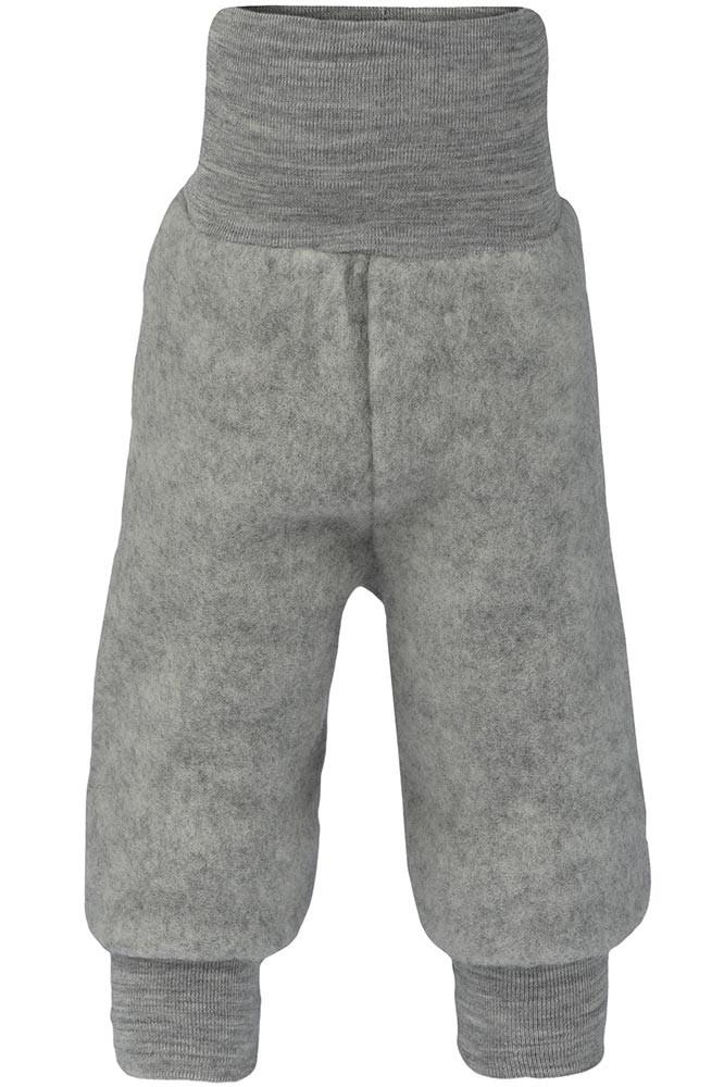 Engel uldfleece bukser - Grå
