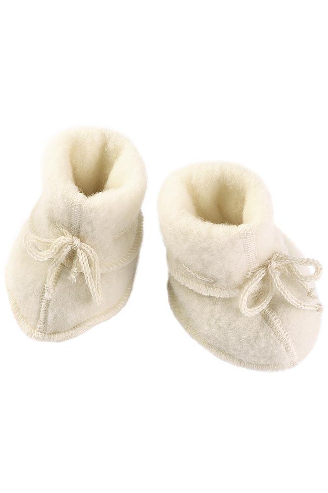Engel uldfleece baby futter i natur   100% økologisk uld