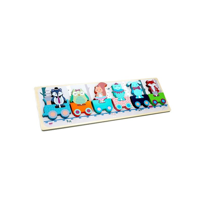 Forest Friends - Wooden Toys - Tut Tut Train