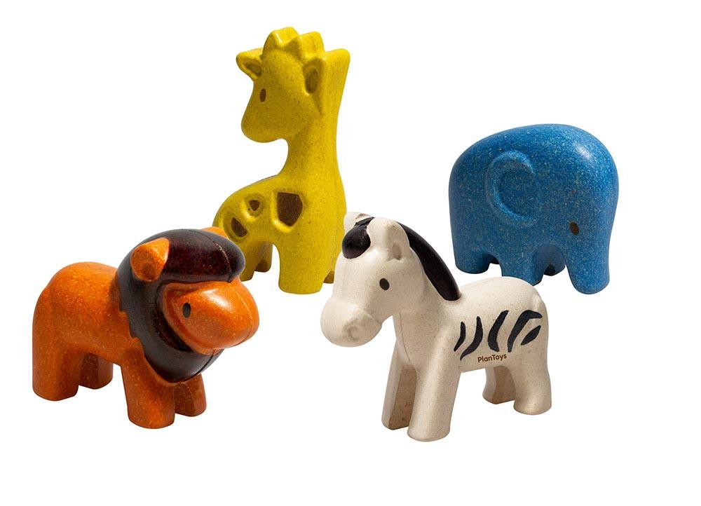 Vilde dyr - trælegetøj | Plan Toys