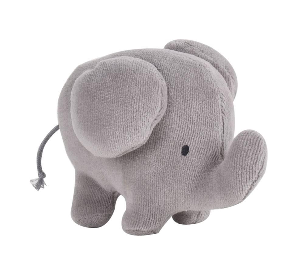 Tikiri bamse elefant. Lille blød sove- og bamsedyr til baby