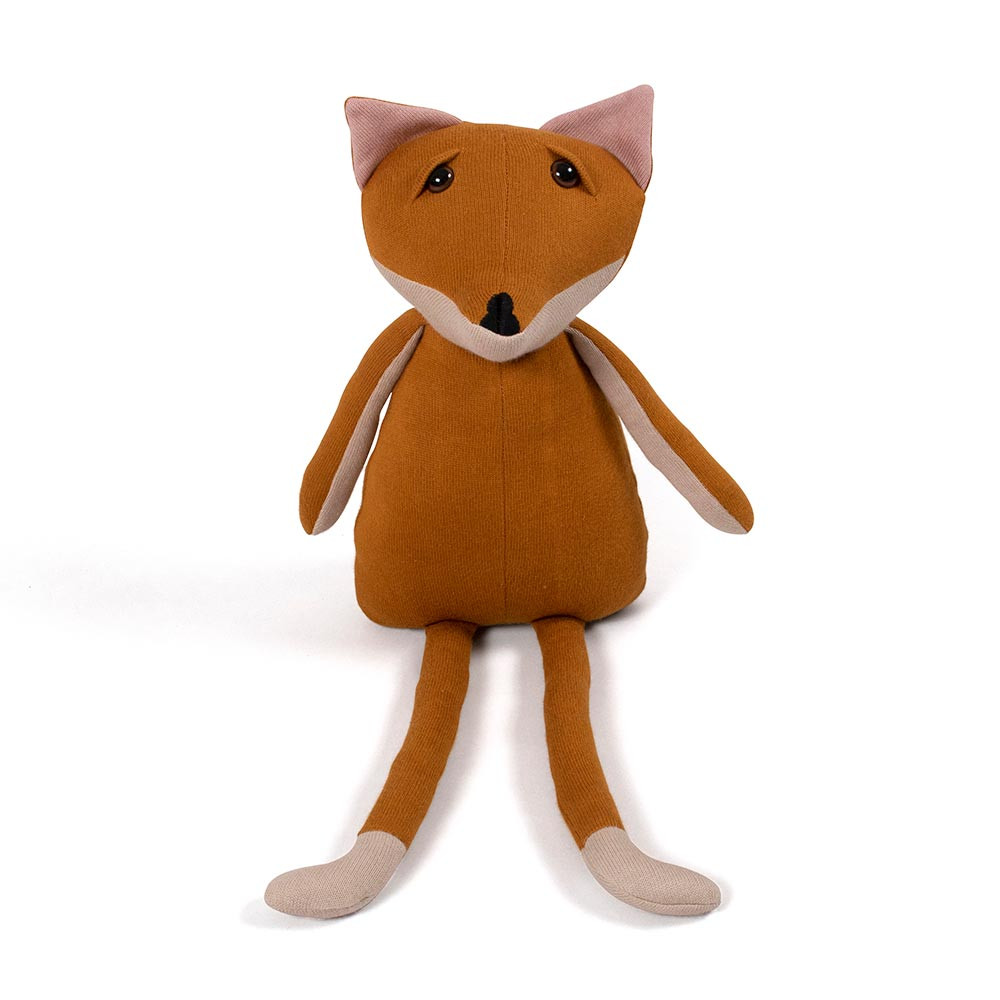 Filibabba Freya the fox – mørk orange bamse ræv