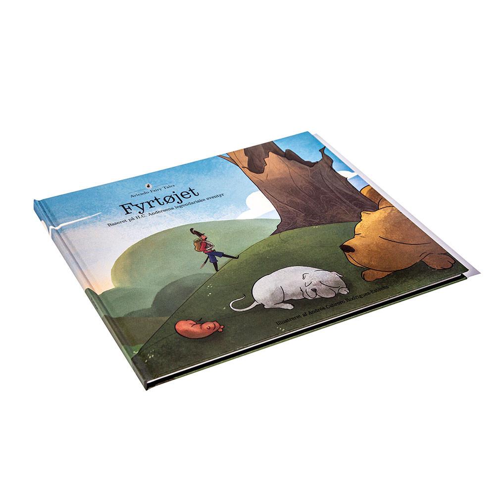 Fyrtøjet bog, eventyr af H. C. Andersen - hard cover