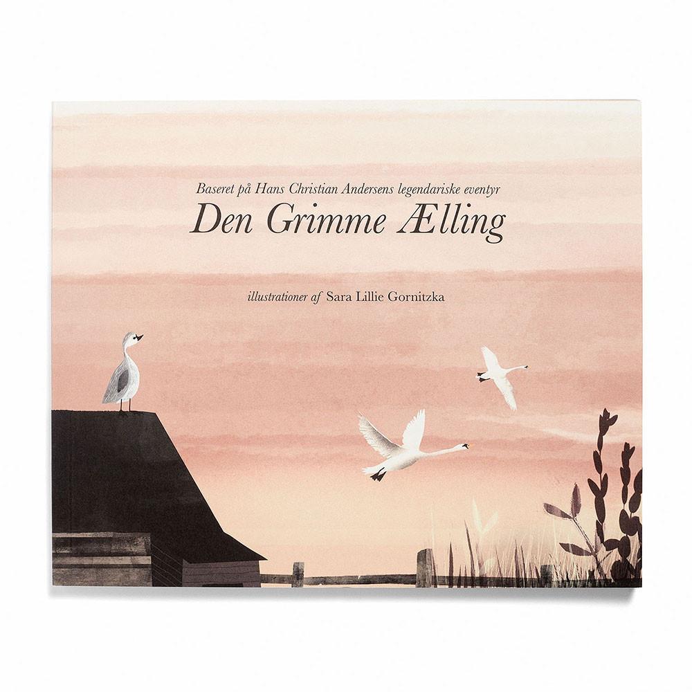 Den Grimme Ælling bog, eventyr af H. C. Andersen - hard cover