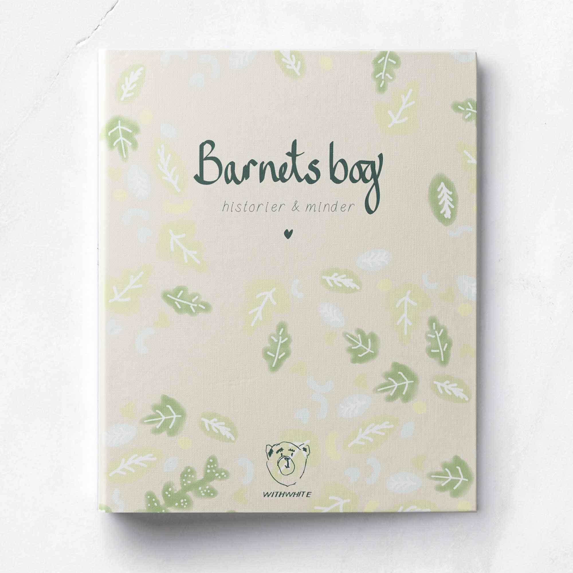 WithWhite Barnets bog grøn - LIMITED EDITION