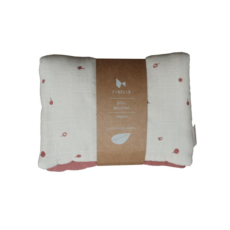 Fabelab dukke sengetøj - Wild berry