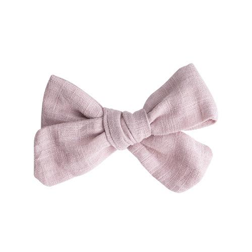 Bow's by Stær Elvira hørsløjfe med spænde - dusty rosa