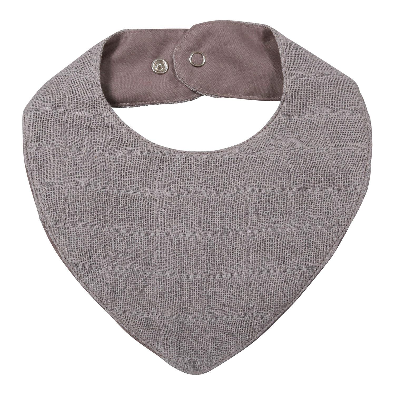 Muslin Bib - Grey - FI-NG017