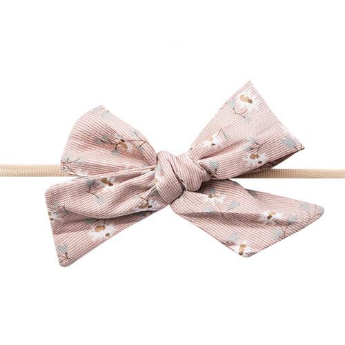 Bow's by Stær Gry hårbånd med sløjfe - Dusty rose