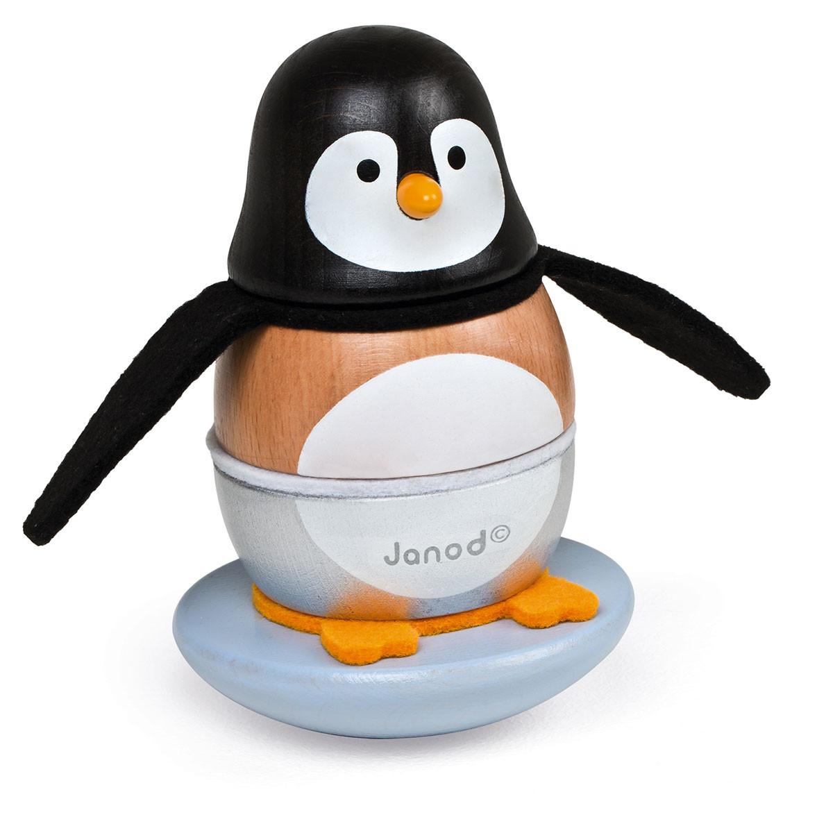 Janod Stabel Pingvin samlet