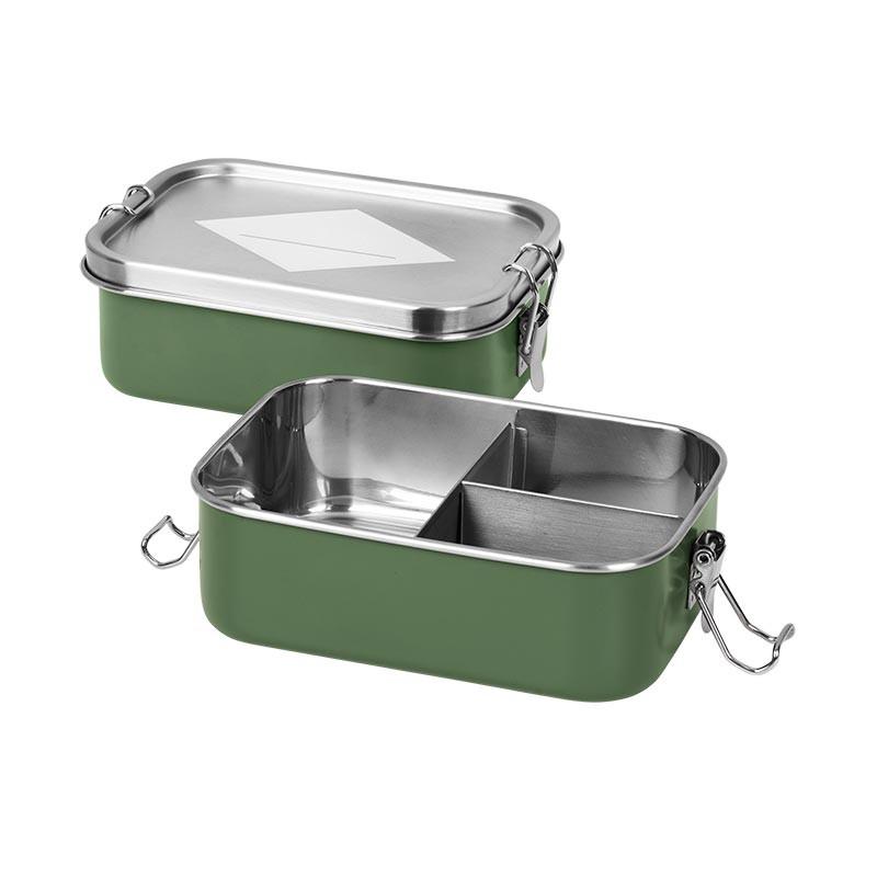 Fabelab madkasse i rustfri stål - Olive