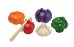 Grøntsager  - trælegetøj