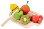 Blandet frugt sæt - trælegetøj