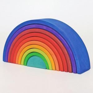 Grimms regnbue i træ, counting – 10 ringe