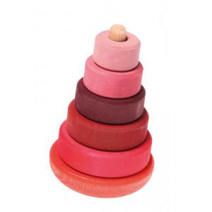 Grimms lille gyngende stabeltårn, pink