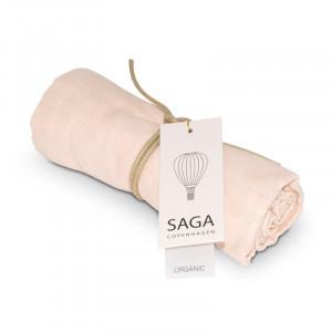 Vidar Muslin stofbleer - Pale pink