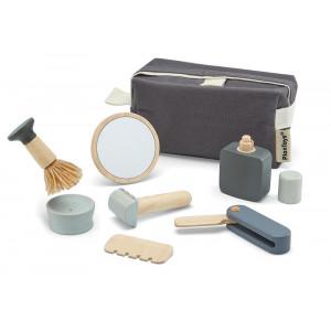 Plan Toys barbersæt - trælegetøj