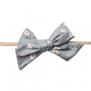 Gry - hårbånd m. sløjfe satin blue