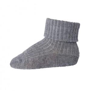 MP 589 baby uldstrømper grå 491
