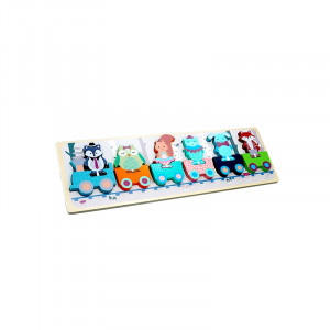 Forest Friends - Wooden Toys - Tut Tut Train