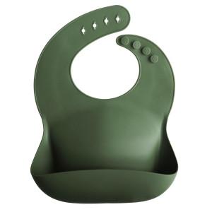 Mushie silicone spisesmæk Forest Green