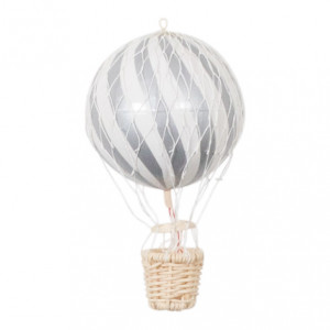 10cm Air Balloon Silver - FI-10S006