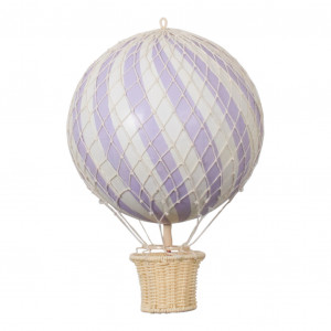 20cm Air Balloon Purple - FI-20P011