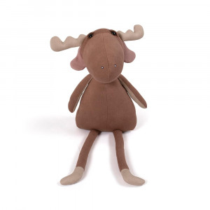 Filibabba Milo the moose - bamse, Brownie