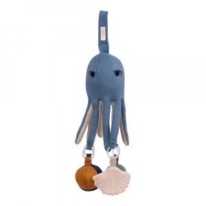 Filibabba Otto the octopus – blå blæksprutte aktivitetslegetøj