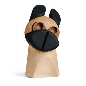 Hunden m/valnød øjne - design figur fra H.C. Andersens eventyr Fyrtøjet