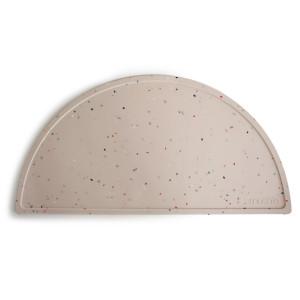 Mushie silicone dækkeserviet  Vanilla Confetti