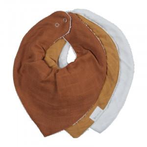 Fabelab bandana savlesmæk 3-pak - Wood