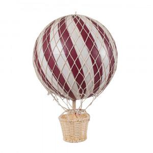 Filibabba luftballon 20 cm - Deeply red