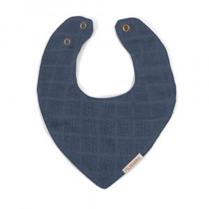 Filibabba muslin savlesmæk - Muddly blue