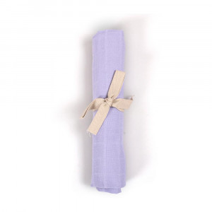 Filibabba muslin stofble GOTS - Fresh violet