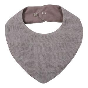 Muslin Bib - Grey